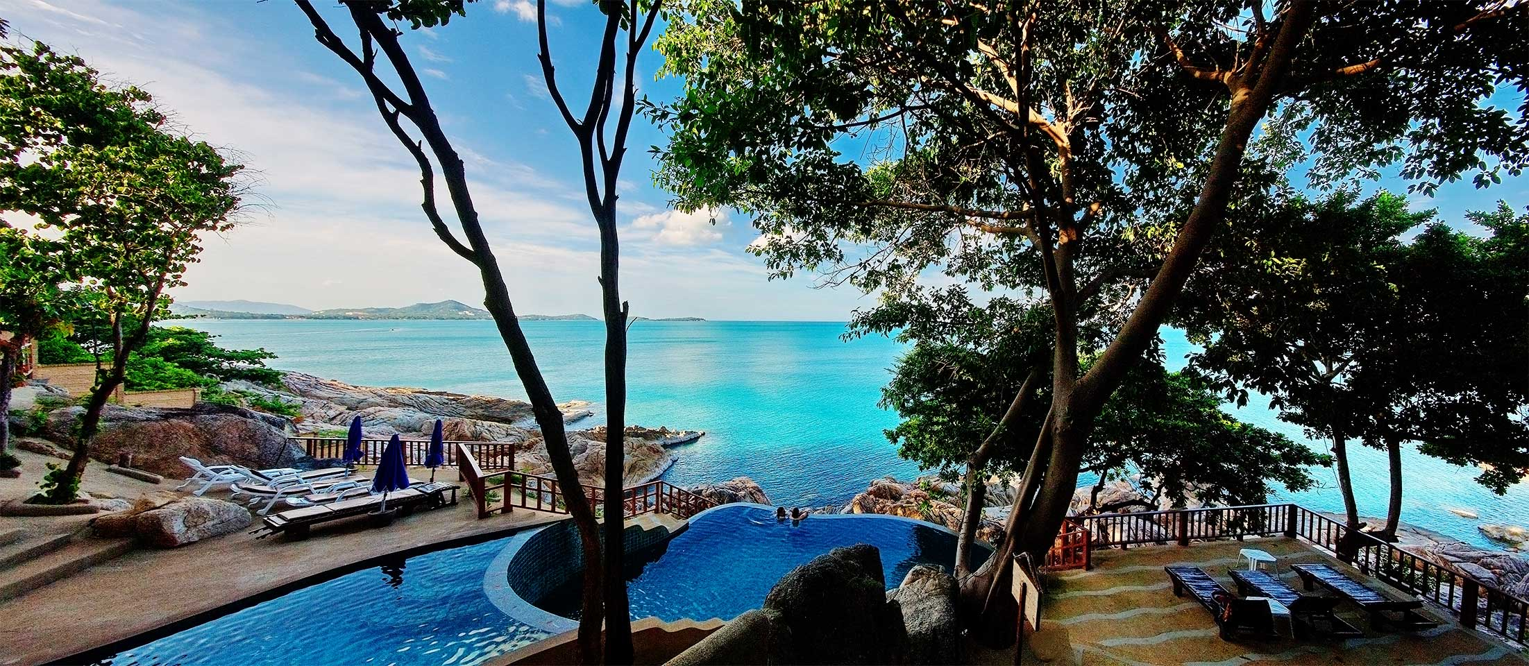 Baan hin sai resort spa samui view point between chaweng and lamai beach hotel official for Hotels koh samui