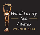World Luxury Spa award 2014